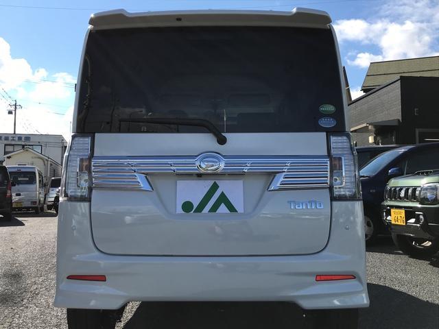 ダイハツ タント カスタムRS トップエディションリミテッドSAIII 4WD