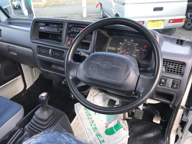 TCハイルーフ 4WD 5MT エアコン パワステ キーレス(12枚目)
