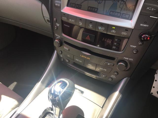 レクサス IS IS250 バージョンS HDDナビ