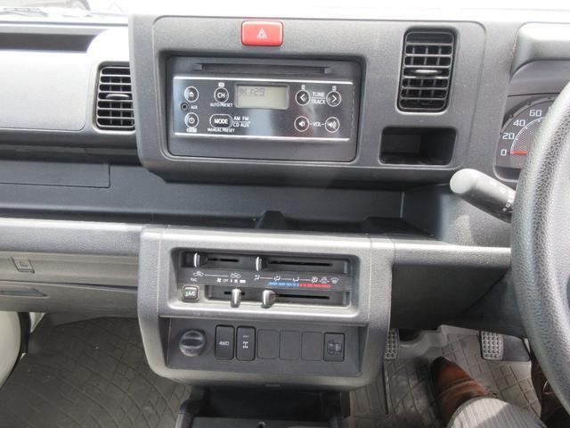 ダイハツ ハイゼットトラック エクストラ 4WD 5MT キーレス CD パワステ AC