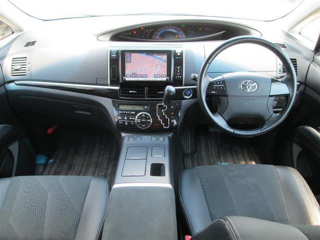 アエラス 4WD フルセグ メモリーナビ DVD再生 バックカメラ ETC 両側電動スライド HIDヘッドライト 乗車定員7人 3列シート 記録簿 ロングラン保証(12枚目)