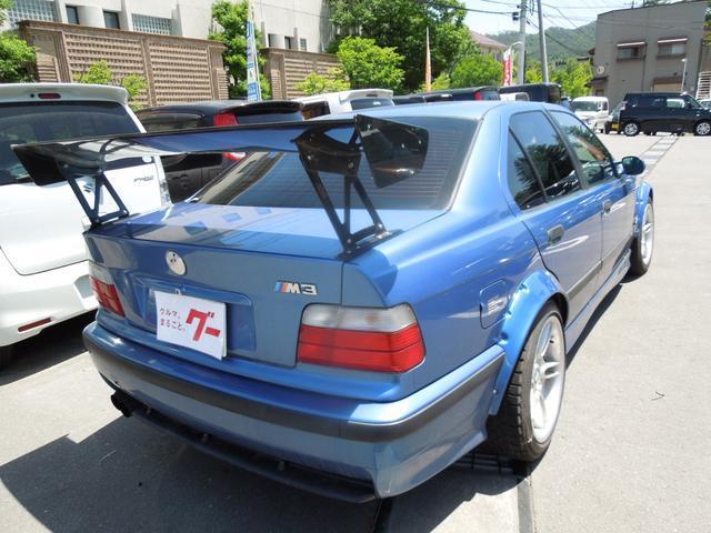 M3 6速MT GTウィング 車高調 RECAROバケット(5枚目)