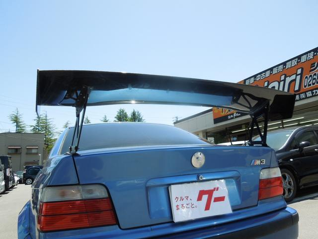 M3 6速MT GTウィング 車高調 RECAROバケット(6枚目)