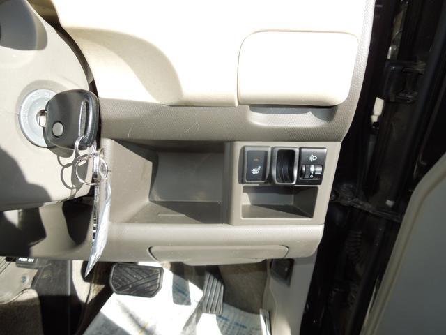 日産 モコ S FOUR 4WD シートヒーター