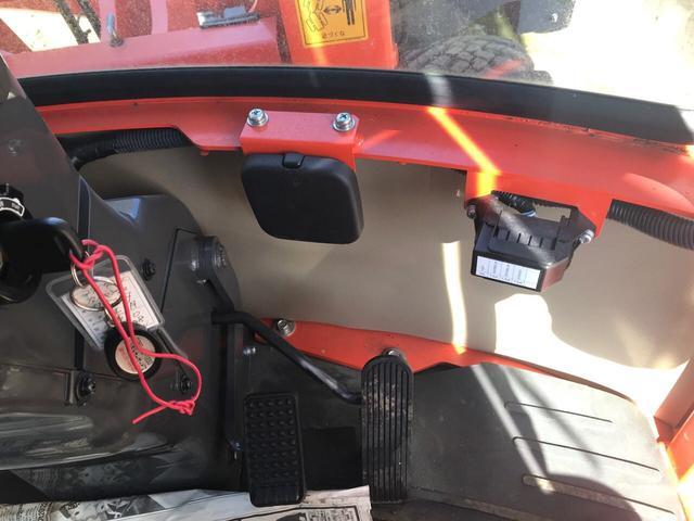 クボタ ホイールローダー R430Z 冬タイヤ装着(11枚目)