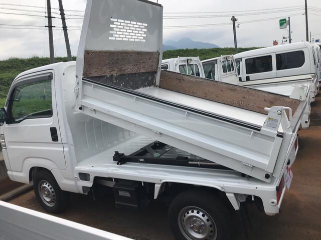 ダンプ 4WD 5速マニュアル エアコン パワステ(6枚目)