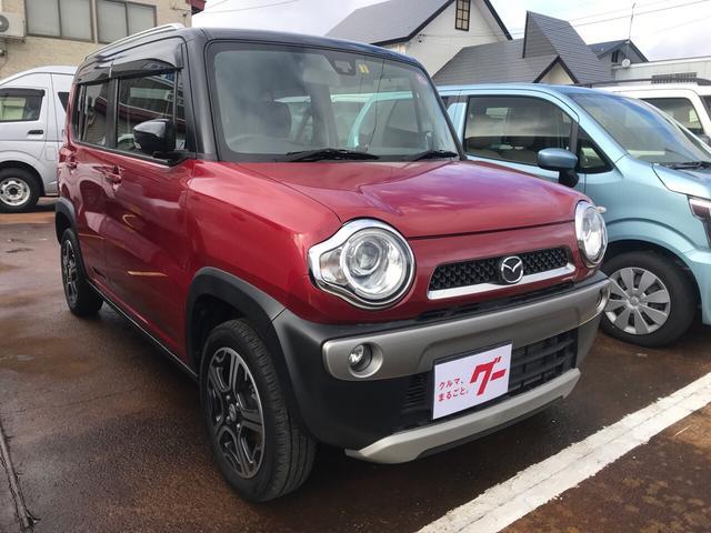 「マツダ」「フレアクロスオーバー」「コンパクトカー」「長野県」の中古車3