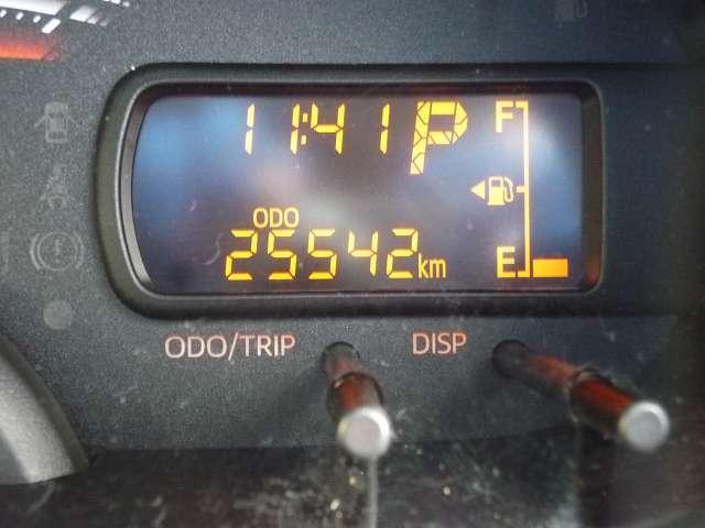走行距離もご覧のとおり♪半年に一度のオイル交換・一年ごとの法定点検も実施しておりますのでエンジン機関も快調です!