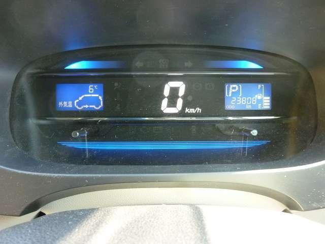 見やすいデジタル表示のメーター計器!もちろんマルチインフォメーション付きで機能も充実!