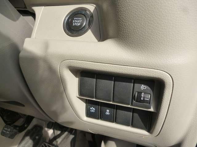 プッシュスタート&キーフリー♪今話題の自動ブレーキも搭載しておりますので安心してお使い頂けます♪