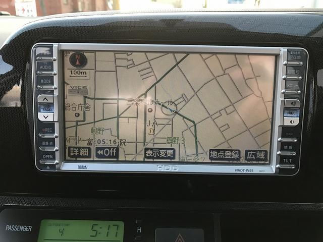 トヨタ ウィッシュ X エアロスポーツパッケージ HDDナビ