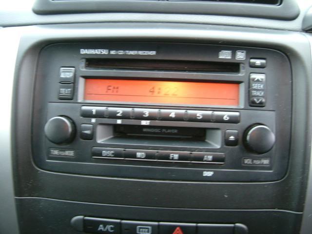 Xリミテッド 4WD ETC車載器 CD MD(13枚目)