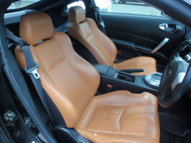 日産 フェアレディZ VQ35エンジン 茶革シート AT 18インチアルミ ナビ