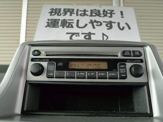 ホンダ ザッツ ベースグレード キーレス CDオーディオ