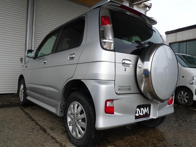 ダイハツ テリオスキッド カスタムL 4WD 5MT