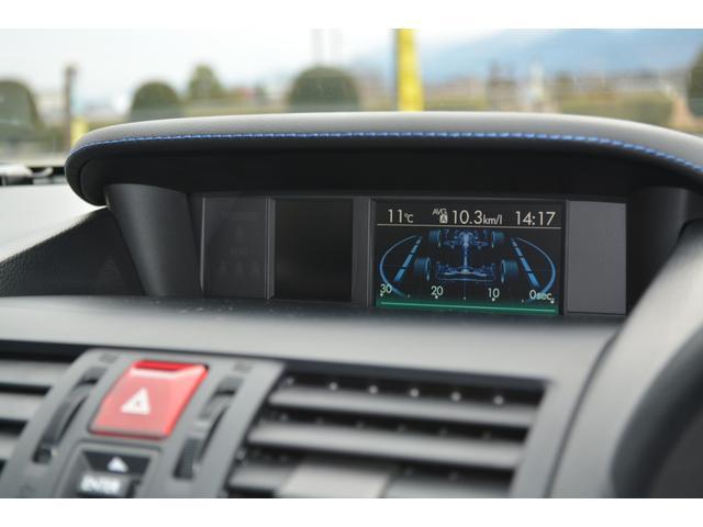1.6GT-Sアイサイト ワンオーナー アイサイトバージョン3 ナビ フルセグTV Bluetooth Panasonicウーハー LEDヘッドライト LEDライナー DOPエアロ グリル スマートキー2本 ETC(13枚目)