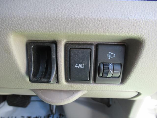DX ハイルーフ 4WD 切替4WD ラジオ 両側スライド オートマ(13枚目)