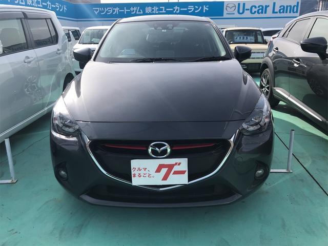 「マツダ」「デミオ」「コンパクトカー」「山梨県」の中古車3