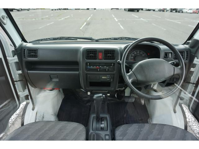 KCパワステ 4WD 3速AT 荷台ゴムマット 夏冬タイヤ付(3枚目)