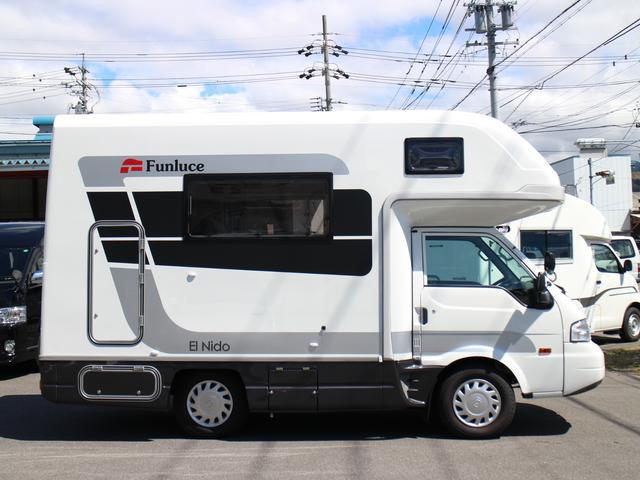 マツダ ボンゴトラック キャンピングカー エル・ニドタイプRE 8ナンバー 6人乗り