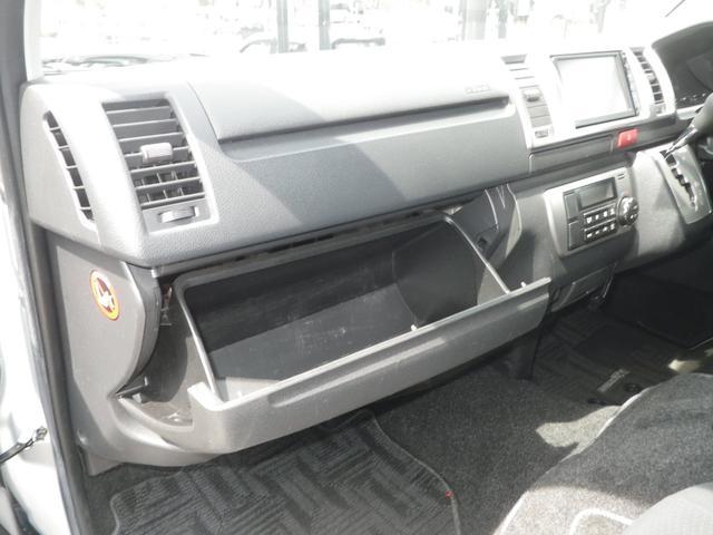 ロングスーパーGL 4WD 4AT ETC キーレス バックカメラ SDナビ フルセグTV オートライト オートエアコン イージークローザー タイベル交換済(28枚目)
