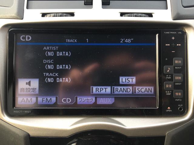 トヨタ ヴィッツ RS 5速マニュアル ナビ ワンセグ ローダウン