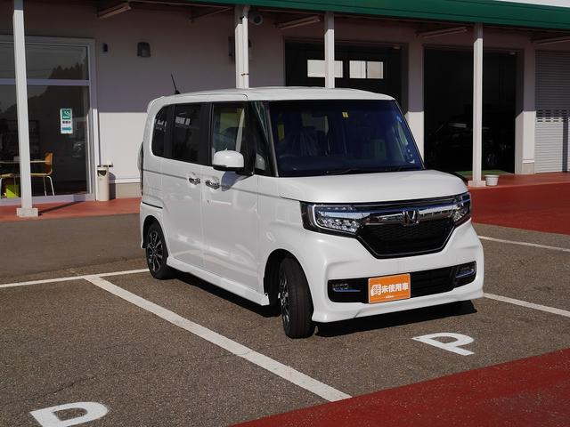 ホンダ N BOXカスタム G・L 届出済未使用車 LEDヘッドライト 左PSドア