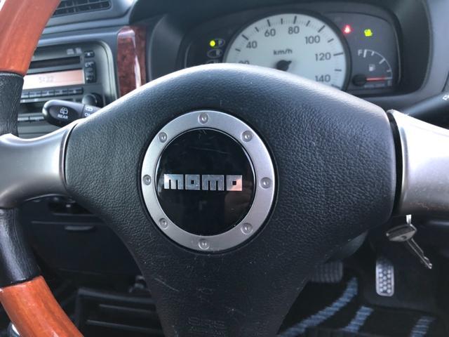 ダイハツ ミラアヴィ X4WD  MOMOステアリング
