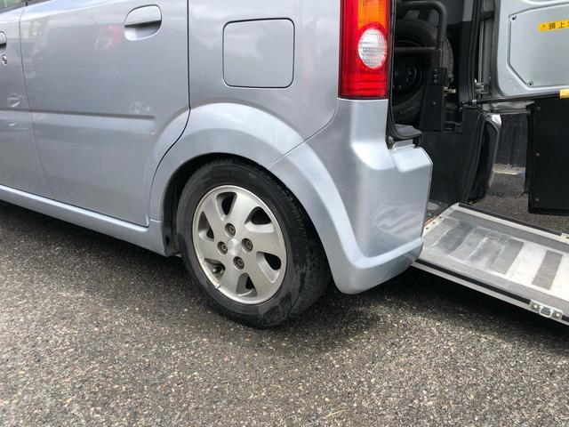 車いす移動車 電動ウインチ スロープ 電動車高調整付き(15枚目)