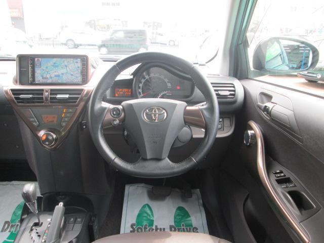 トヨタ iQ 130G レザーパッケージ 純正ナビ Bモニター