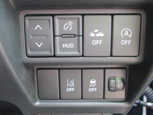HUDスイッチ(明るさ調整スイッチ、上下スイッチ)/衝突被害軽減ブレーキ/アイドリングストップ/車線逸脱防止機能/横滑り防止機能スイッチなど多数の装備が付いています★