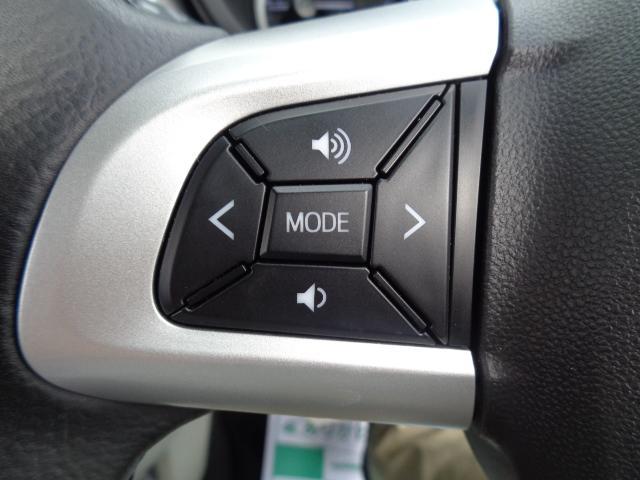 【ステアリングスイッチ】オーディオを手元で操作できるので、ドライブ中の視線の移動や手の移動が少なく安全に操作できます♪