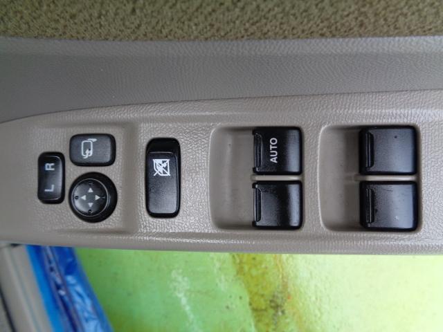 L 純正CDオーディオ エアコン ABS 両側スライドドア プッシュスタート 盗難防止装置 プライバシーガラス 4人乗り 集中ドアロック ブルーイッシュブラックパール3 パワーウィンドウ(6枚目)