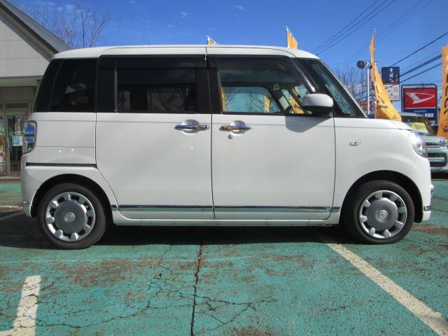 Gメイクアップ SAII 純正8インチメモリーナビ バックカメラ 両側電動スライドドア LEDヘッドライト ESC 衝突被害軽減ブレーキ スマートキー アイドリングストップ 電動格納ミラー ベンチシート 寒冷地仕様車 CVT(8枚目)