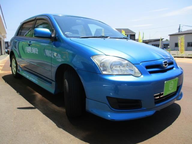 トヨタ カローラランクス X HIDセレクション 4WD ナビ 社外AW