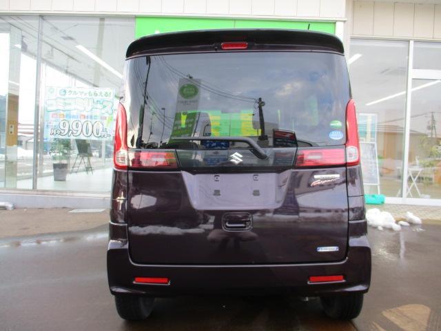 XSターボ 4WD ETC パープル CVT ターボ AC 両側電動スライドドア AW 4名乗り オーディオ付 スマートキー HID(11枚目)