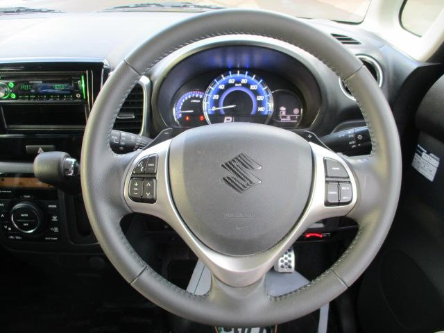 XSターボ 4WD ETC パープル CVT ターボ AC 両側電動スライドドア AW 4名乗り オーディオ付 スマートキー HID(13枚目)