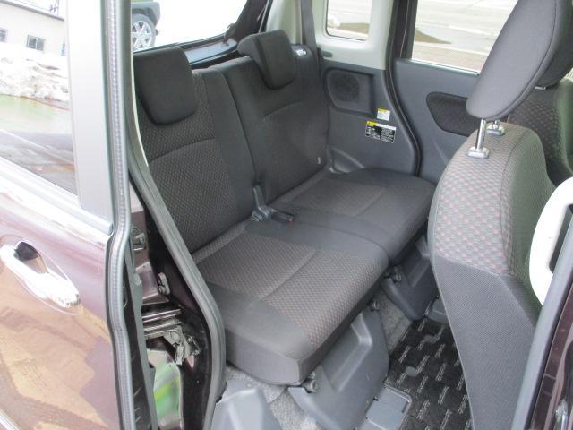 XSターボ 4WD ETC パープル CVT ターボ AC 両側電動スライドドア AW 4名乗り オーディオ付 スマートキー HID(15枚目)