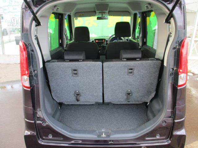 XSターボ 4WD ETC パープル CVT ターボ AC 両側電動スライドドア AW 4名乗り オーディオ付 スマートキー HID(29枚目)