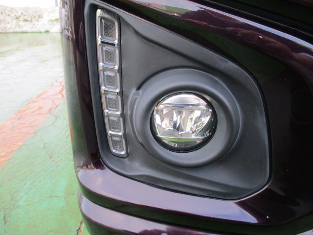 XSターボ 4WD ETC パープル CVT ターボ AC 両側電動スライドドア AW 4名乗り オーディオ付 スマートキー HID(37枚目)