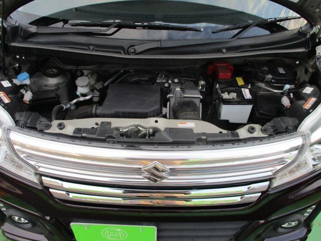 XSターボ 4WD ETC パープル CVT ターボ AC 両側電動スライドドア AW 4名乗り オーディオ付 スマートキー HID(40枚目)
