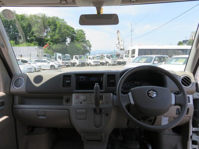 スズキ エブリイワゴン PZターボ 4WD 女性ワンオーナ 片側電動ドア 夏冬タイヤ