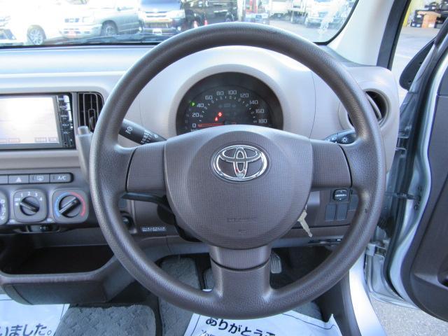 トヨタ パッソ X 4WD 純正ナビ 地デジ ETC車載器 キーレス