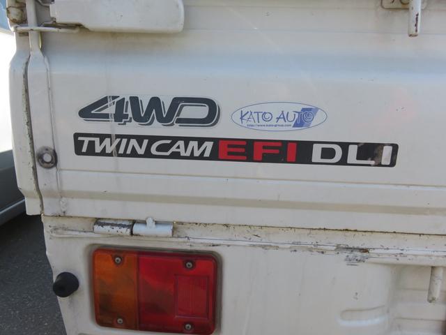 ツインカムスペシャル 4WD 5速マニュアル エアコン(11枚目)
