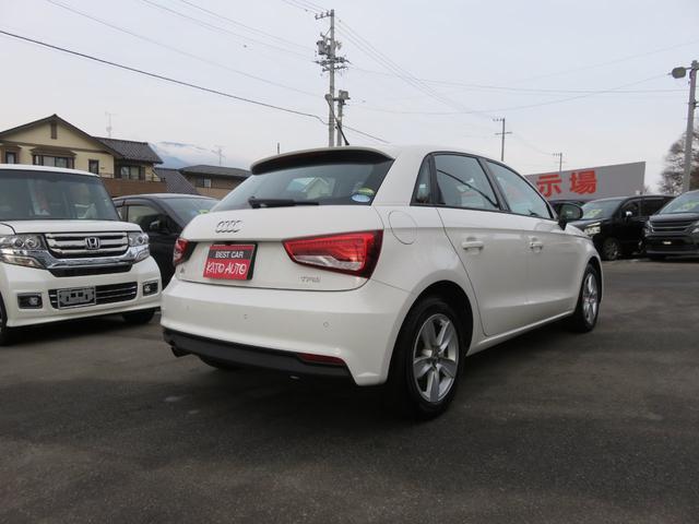 「アウディ」「アウディ A1スポーツバック」「コンパクトカー」「長野県」の中古車7