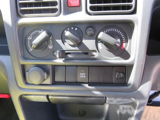 届出済未使用車 4WD エアコン パワステ デフロック フロアマット サイドバイザー 農繁(26枚目)