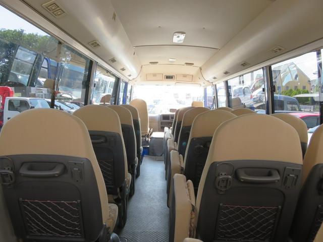 CXL4.9ディーゼル 29人乗り スタットレスタイヤ ノーマルタイヤ付き ETC 自動ドア ワンオーナー車(44枚目)