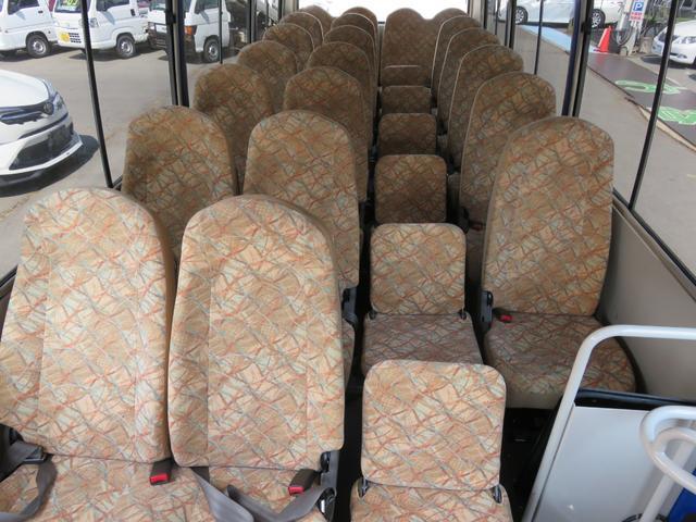 CXL4.9ディーゼル 29人乗り スタットレスタイヤ ノーマルタイヤ付き ETC 自動ドア ワンオーナー車(47枚目)