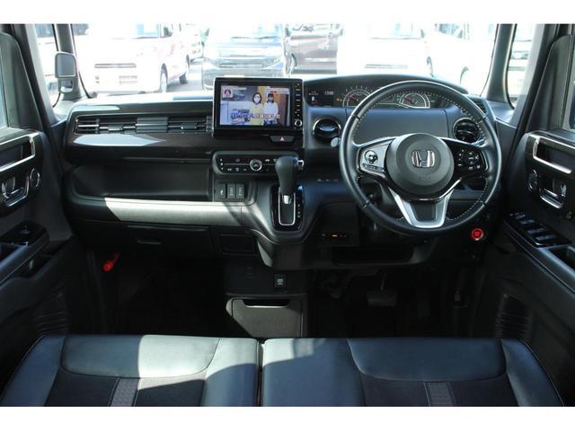 G・Lターボホンダセンシング 4WD ワンオーナー 両側電動スライドドア ナビ&フルセグTV LEDヘッドライト 衝突被害軽減ブレーキ スマートキー クルーズコントロール ETC バックカメラ シートヒーター アルミホイール(6枚目)