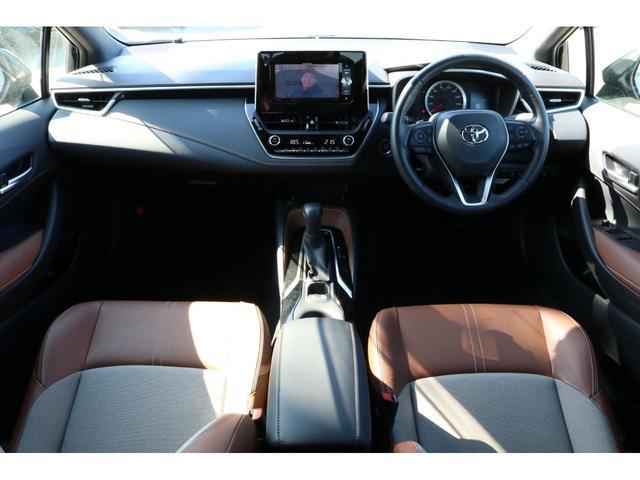 G 4WD トヨタセーフティーセンス ハーフレザーシート ナビ&フルセグTV アイドリングストップ スマートキー クルーズコントロール バックカメラ オートマチックハイビーム シートヒーター CD&DVD(5枚目)